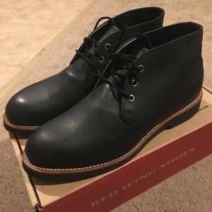 Red Wing Brooks Brothers Foreman in Black Rare
